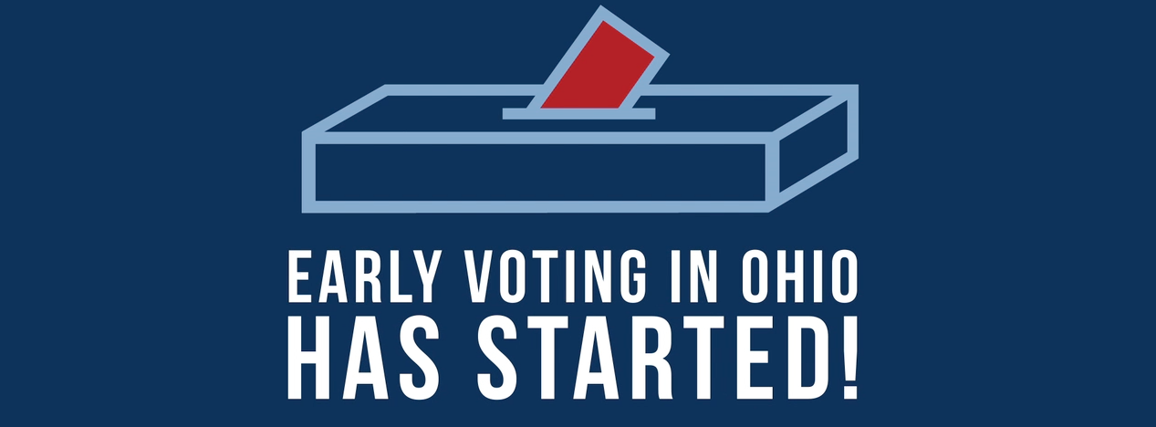 Early voting in Ohio has started