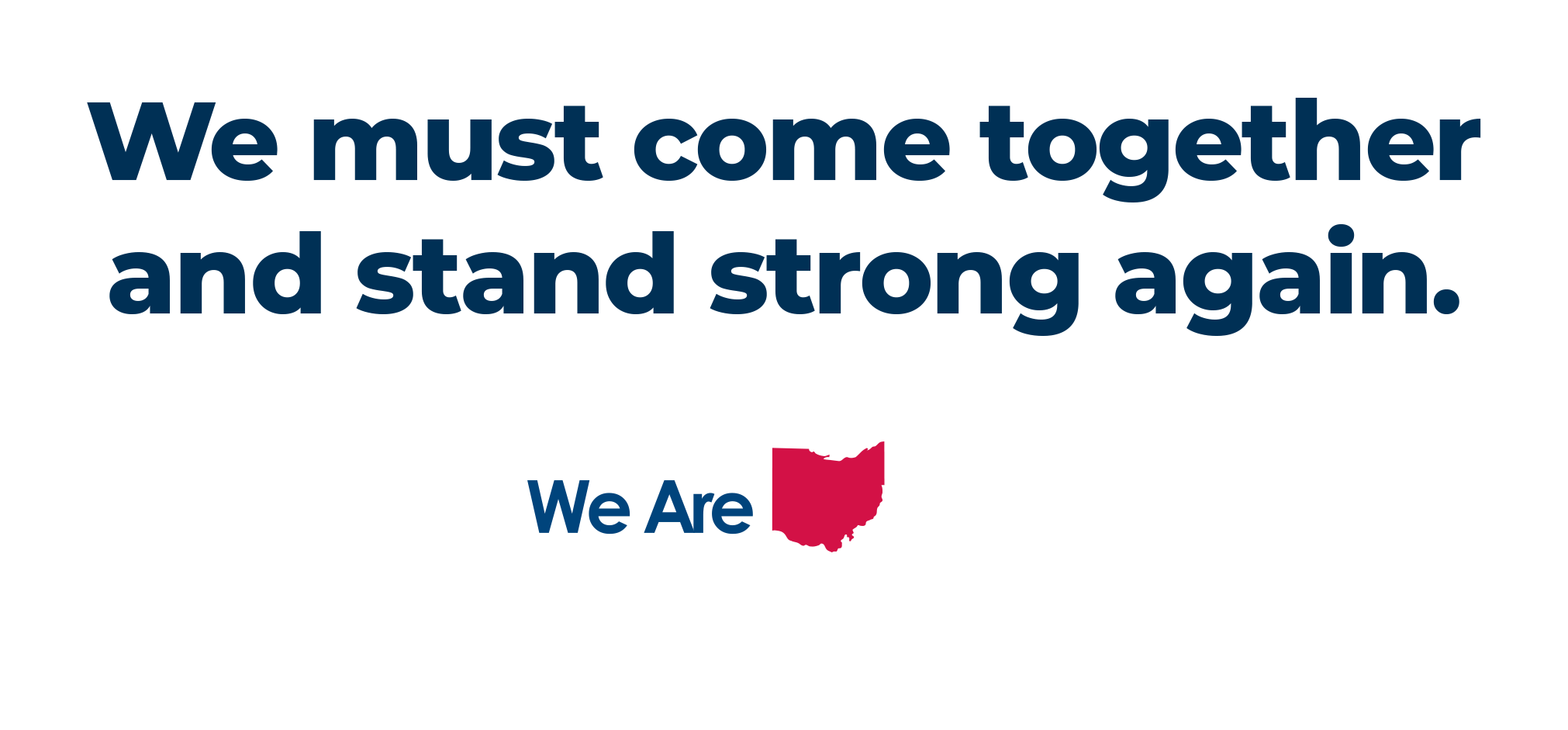 We came together in 2011 and fought off these attacks. We must come together and stand strong again.